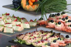 Les Buffets froids & menus